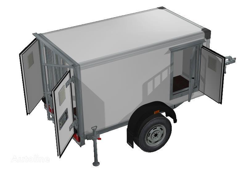 new ISTOK 3791M1 closed box trailer