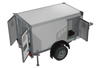 new ИСТОК 3791M1 closed box trailer