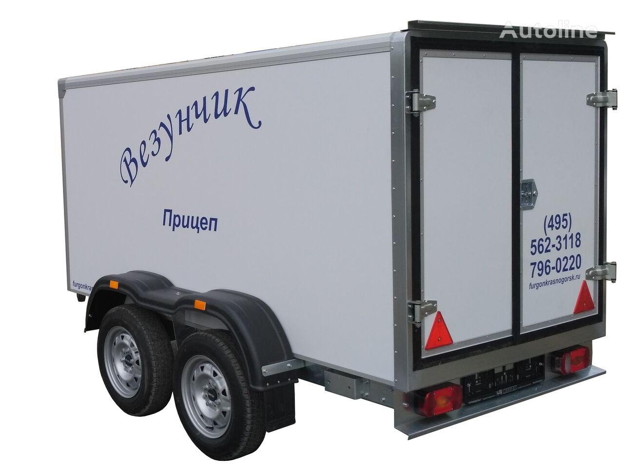 new ISTOK Istok 3792M2 closed box trailer