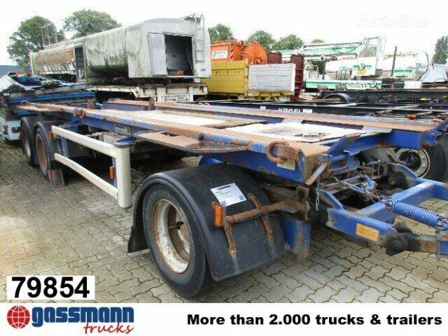 HÜFFERMANN HMA 2420 Absetzcontainer für 2 x Container container chassis trailer