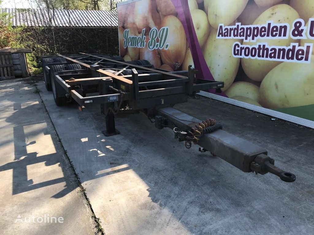JUMBO TM 200 CE 20 ft container chassis container chassis trailer