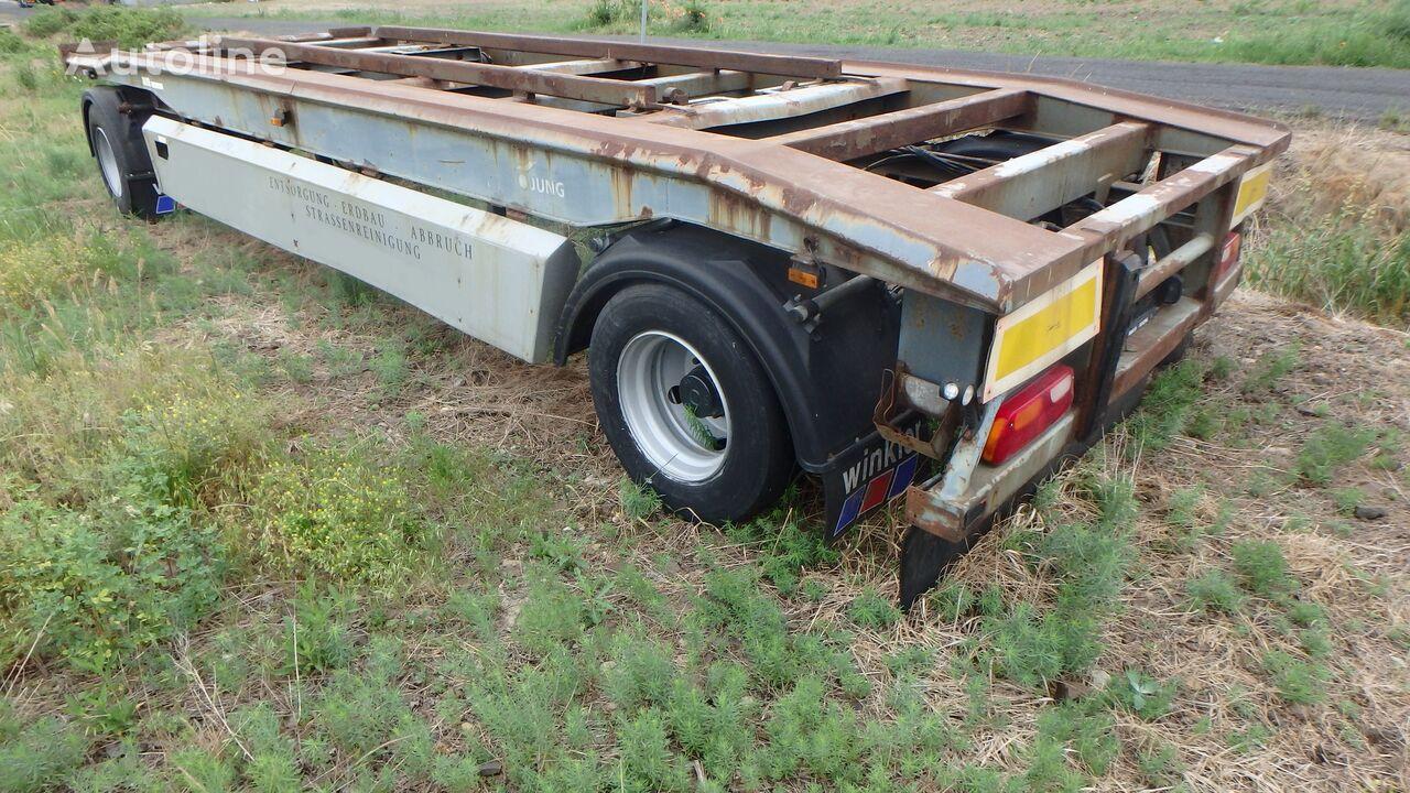 Junge TCA18H für Haken Seil Container Hakowca linowca Lenhard container chassis trailer