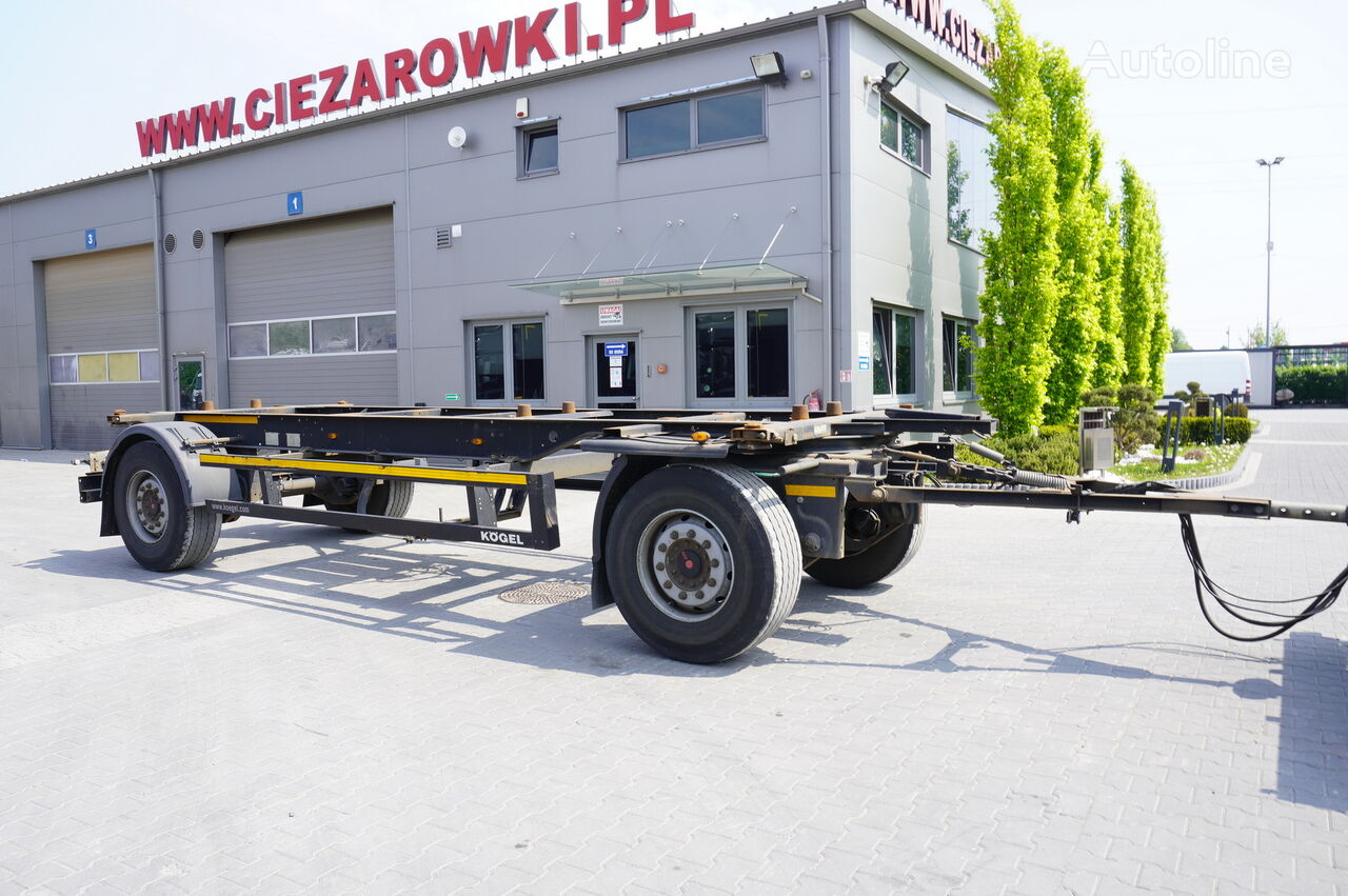KÖGEL AWE 18 , BDF 7,5m , 2 axles , SAF axles  container chassis trailer