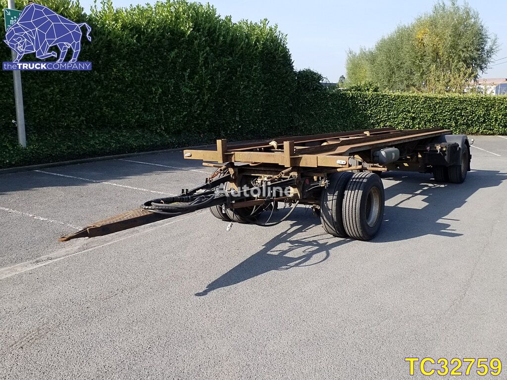 LAG Container Transport container chassis trailer