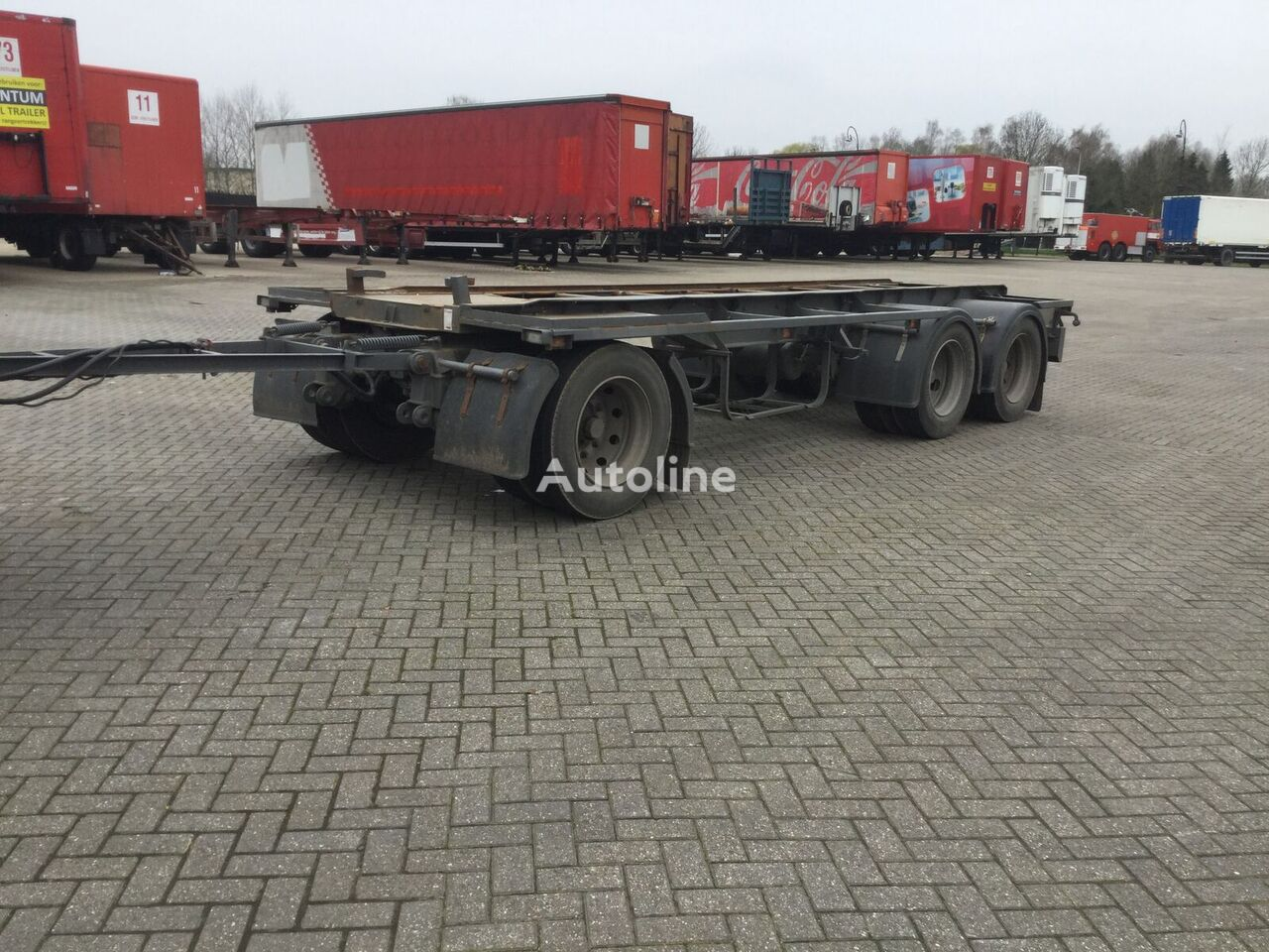FLOOR FLA 10 188 container chassis trailer