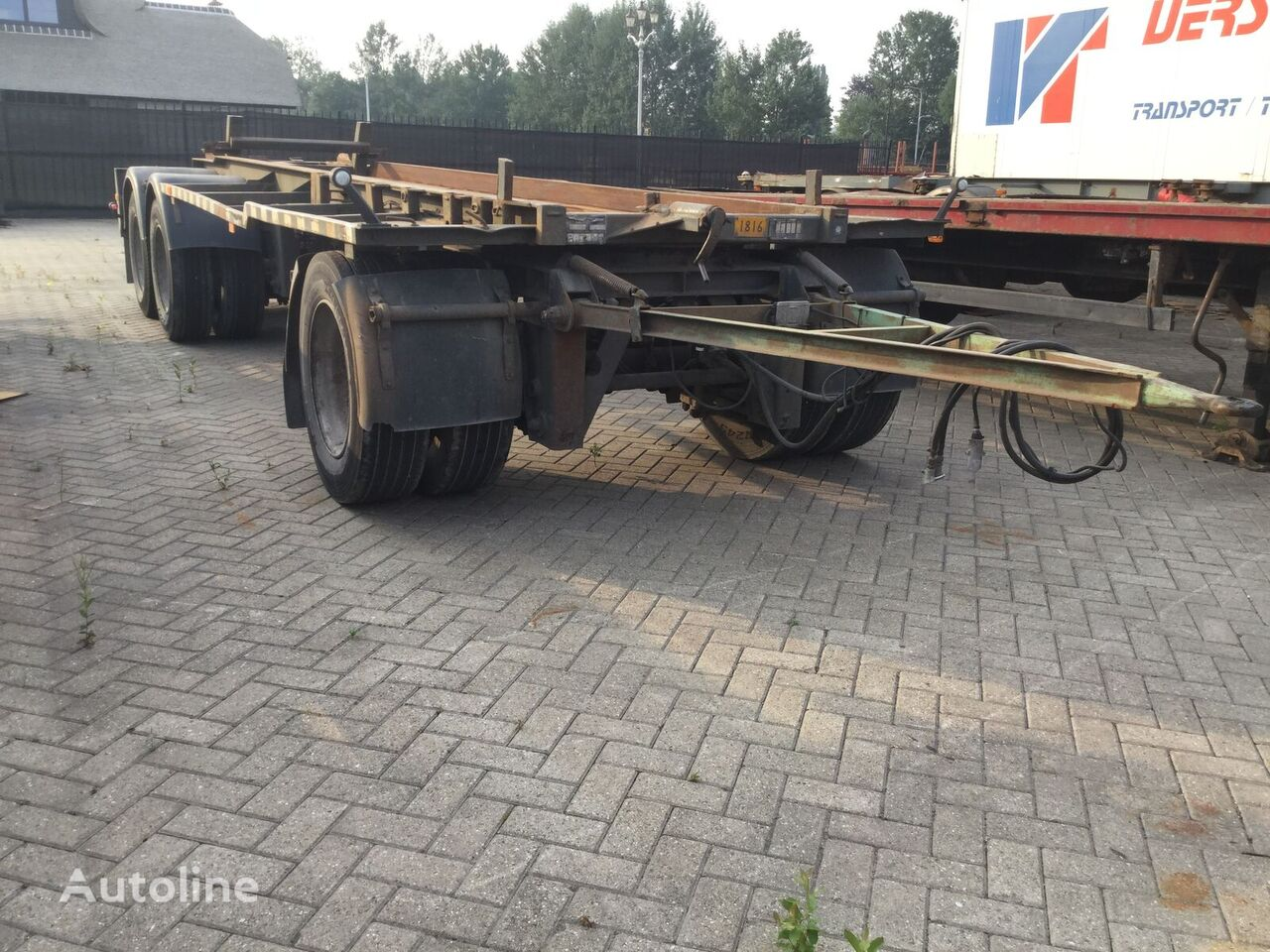 GS Meppel Ag-2800 r container chassis trailer