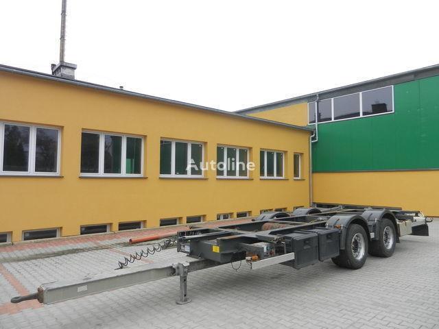 H&W Przyczepa kontenerowa container chassis trailer