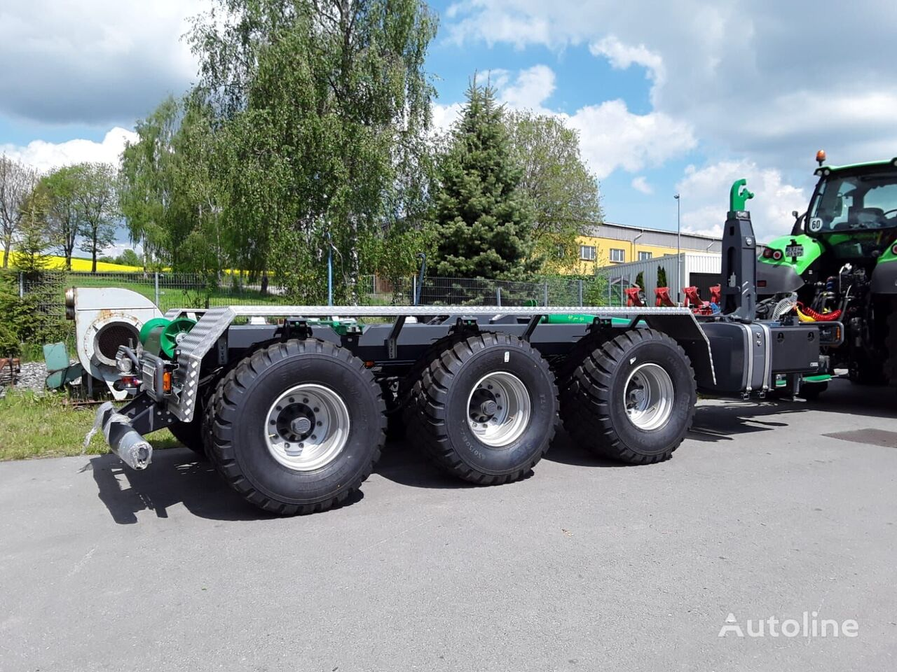 ITRK 26.33 HD container chassis trailer