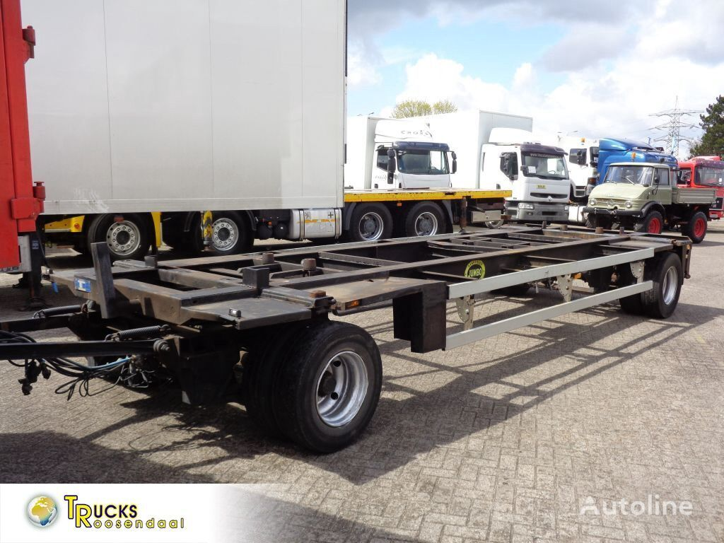 JUMBO MV 200 + 2 AXLE container chassis trailer