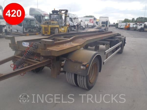 KAISER R2102P2C swap chassis container chassis trailer