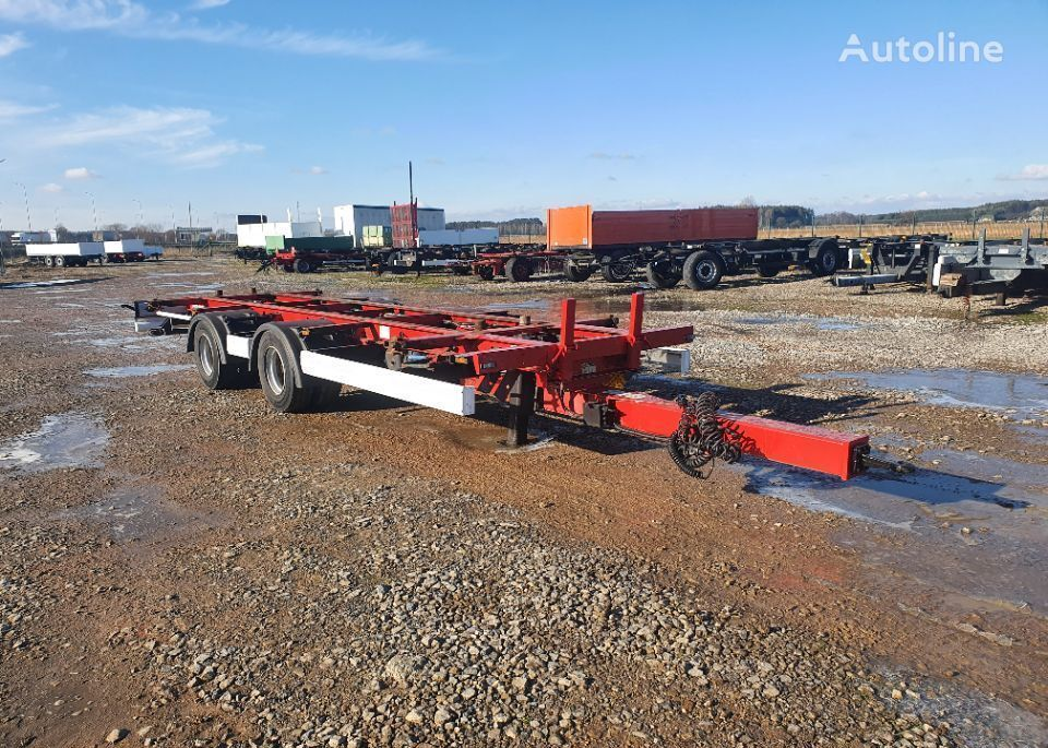 KRONE JUMBO  container chassis trailer
