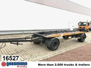 LANGENDORF PC 14/80-2 PC 1/80- Abrollanhänger container chassis trailer