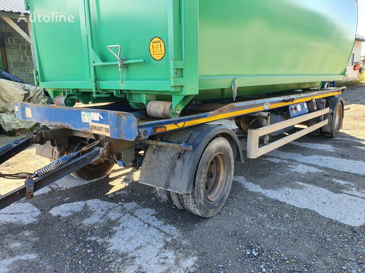 MEILLER container chassis trailer