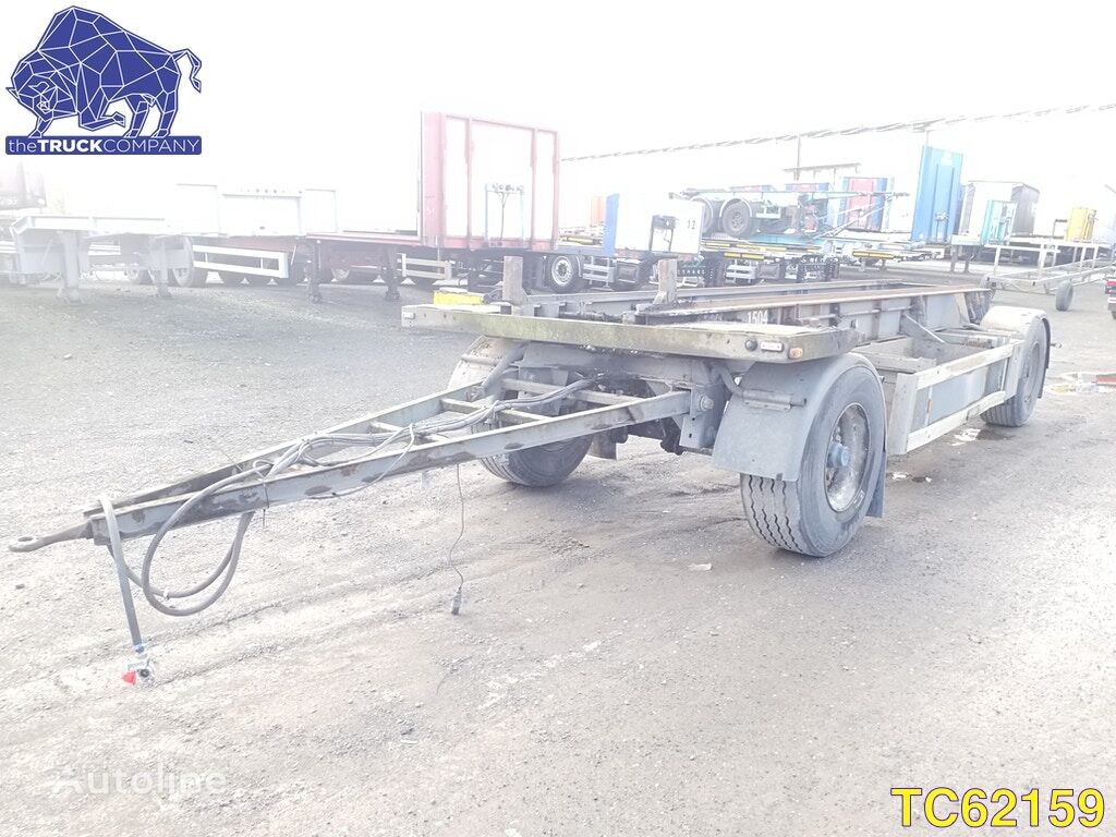 MOL Container Transport container chassis trailer