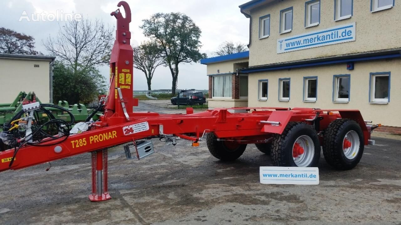 PRONAR T 285 container chassis trailer