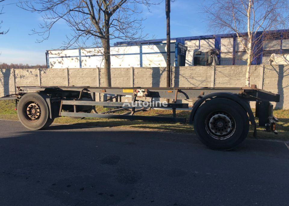 SCHMITZ CARGOBULL BDF container chassis trailer