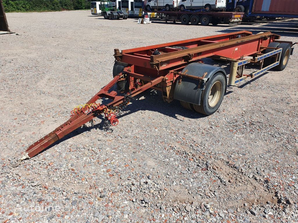 TRAX Container aanhanger container chassis trailer