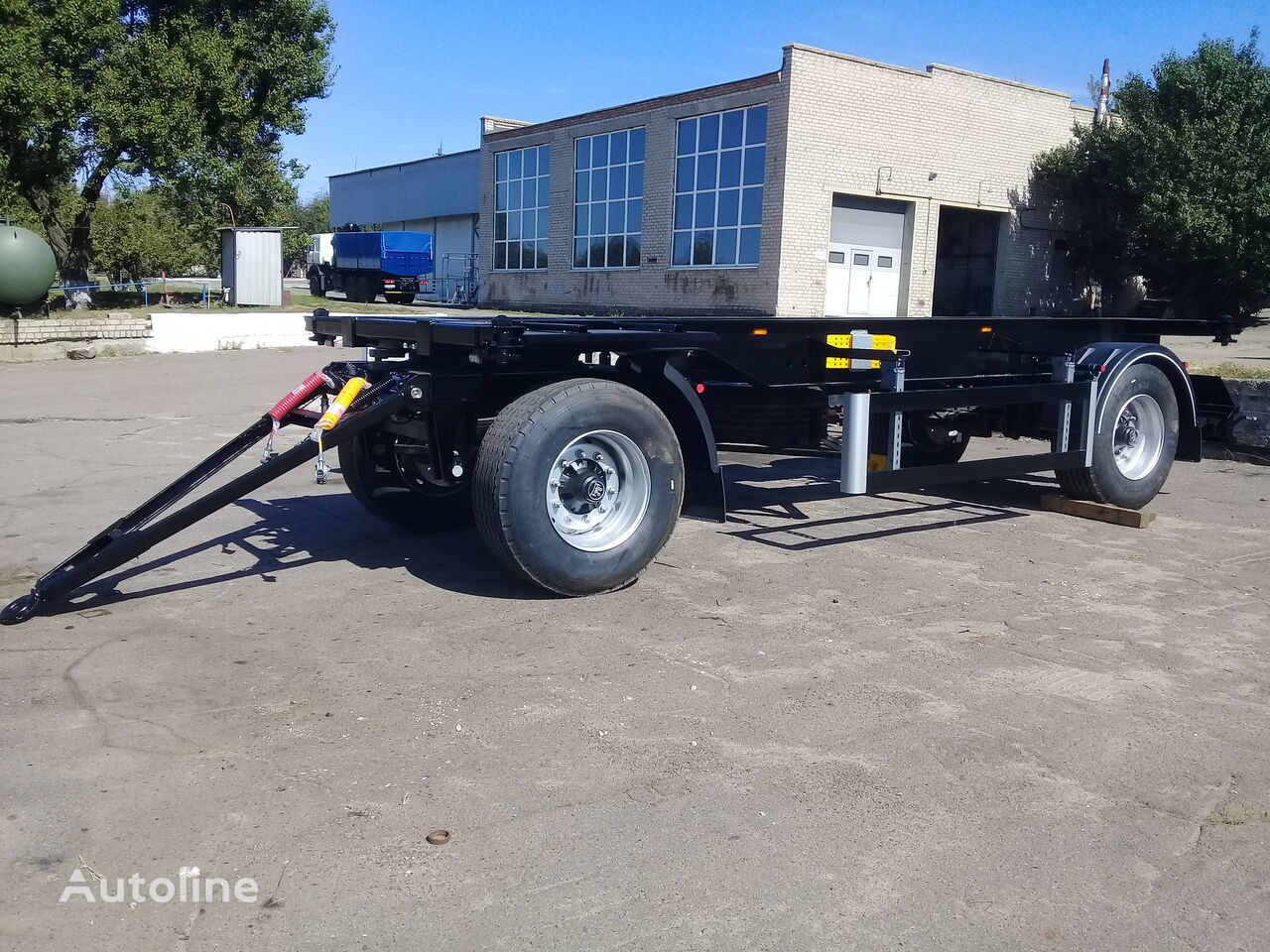 new VARZ PK 1406 container chassis trailer