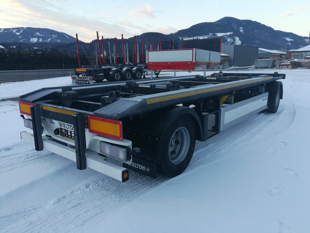 new WIELTON container chassis trailer