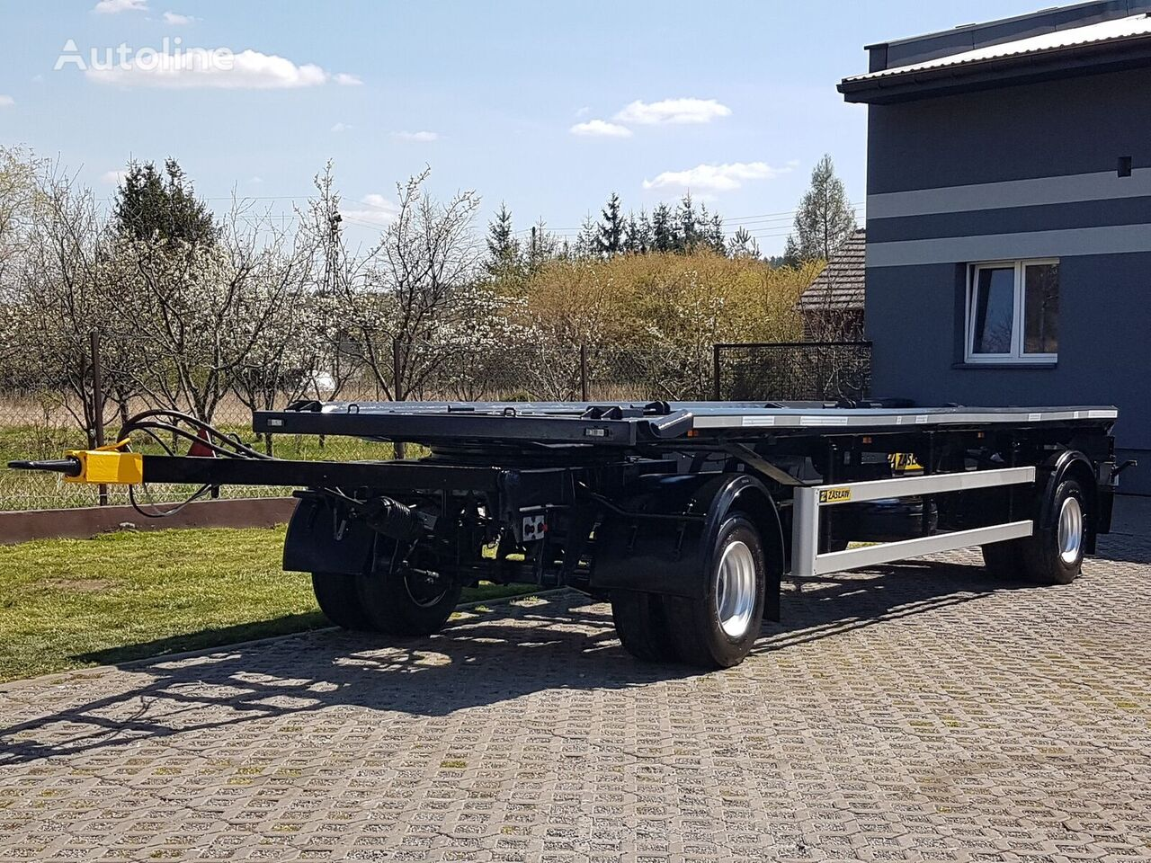 ZASŁAW D-659 container chassis trailer