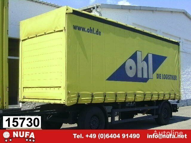 Andere PA-F 18/7.4 curtain side trailer