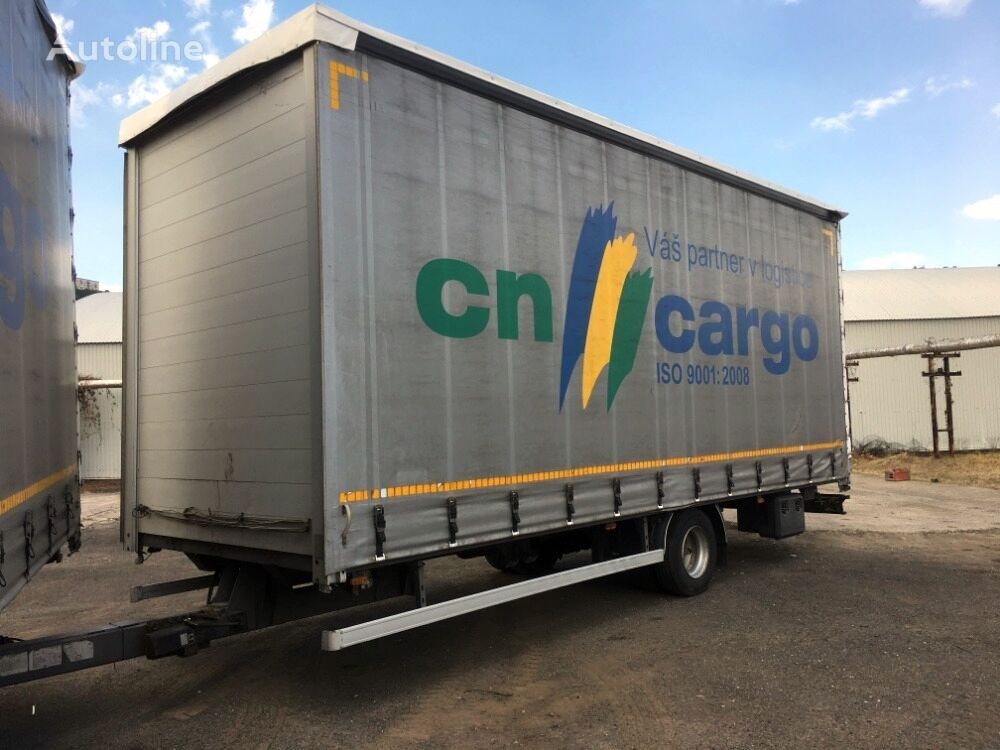 GTS 9,5 t 1 náprava  velkoobjem  curtain side trailer