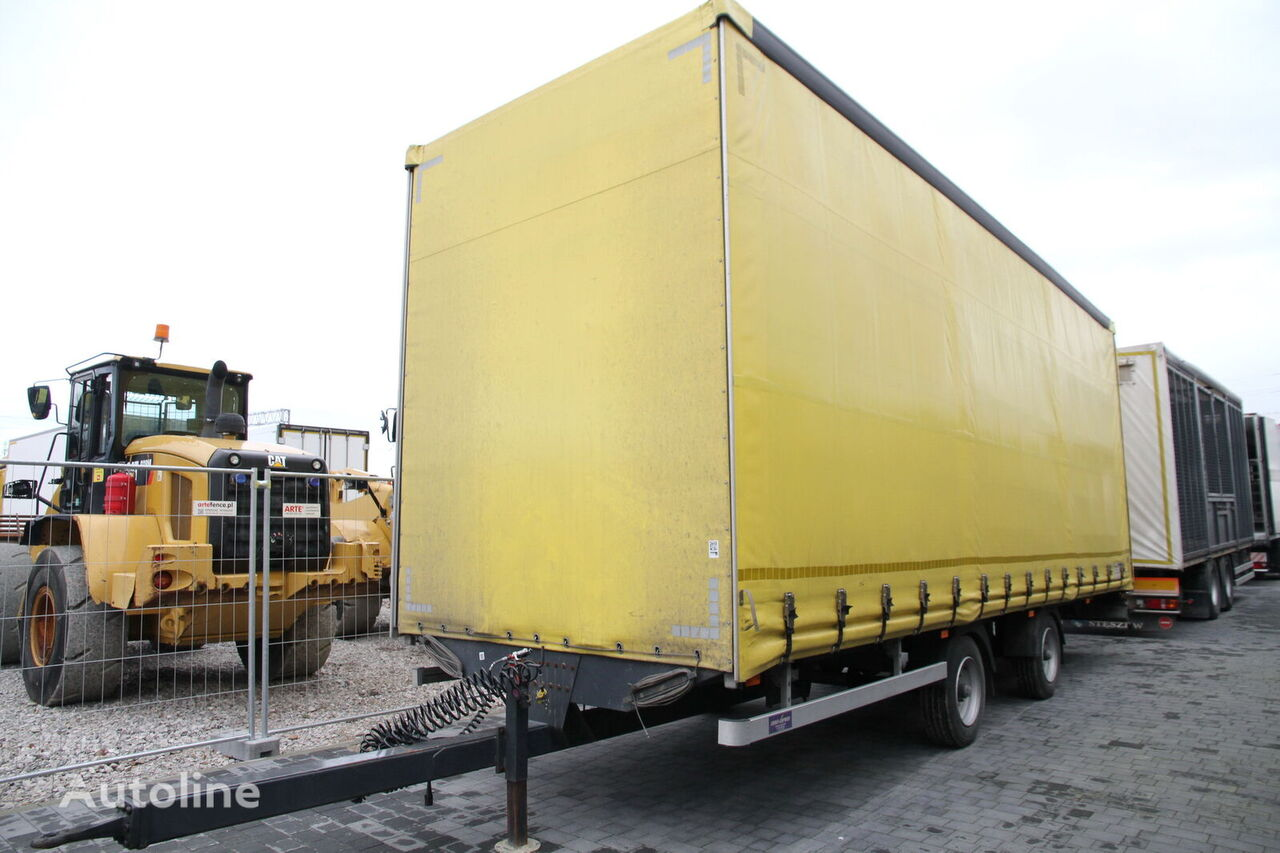 JOKER CURTAIN 9 T  curtain side trailer
