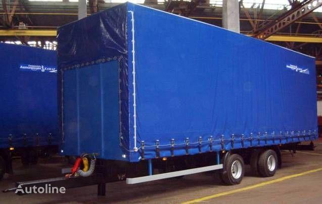 new KAMAZ SZAP-83062 curtain side trailer