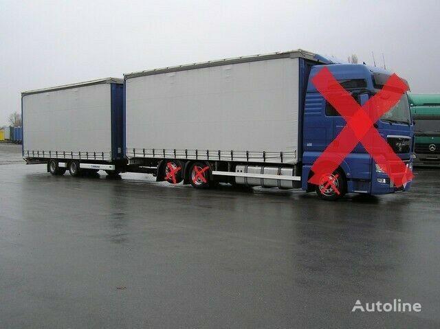 new MAN NUR AUFBAU für MAN TGS/TGX-4800 curtain side trailer