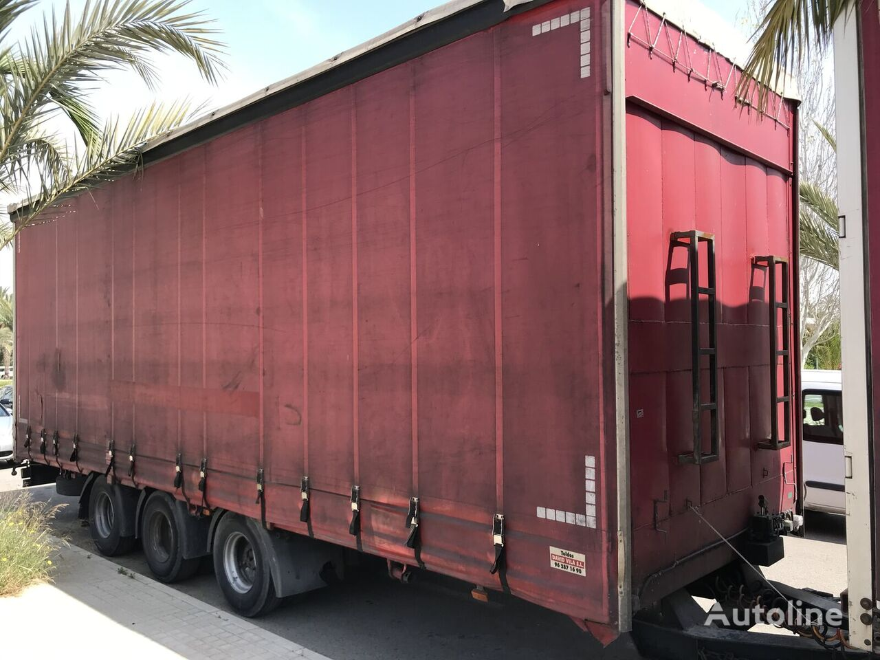 MONTENEGRO RP/CH - 3G/3S - C curtain side trailer
