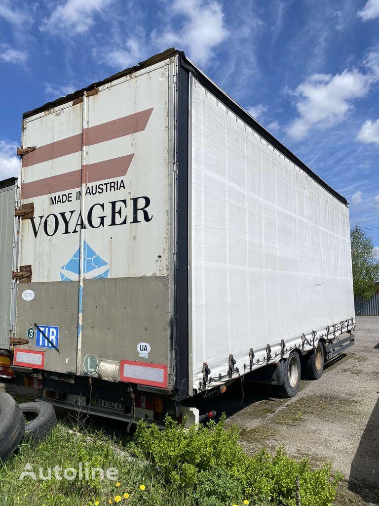 SCHWARZMÜLLER curtain side trailer