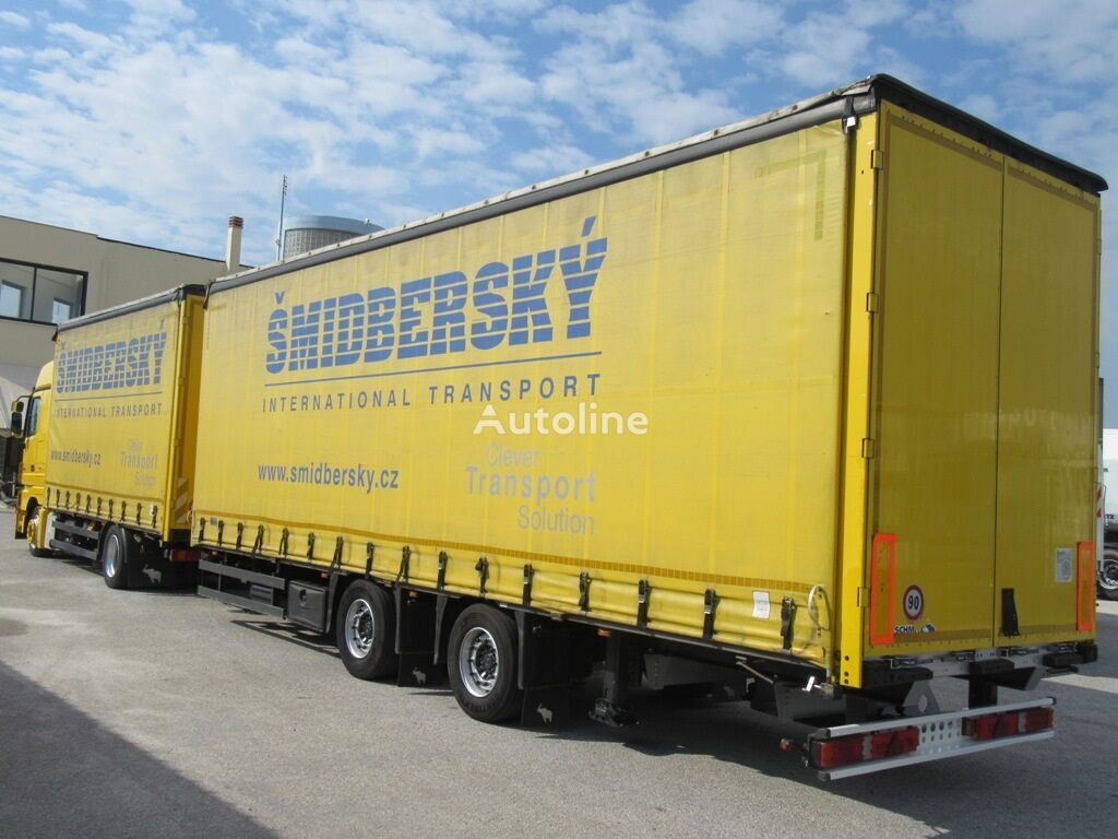 Schmitz GOTHA ZCS 18 curtain side trailer