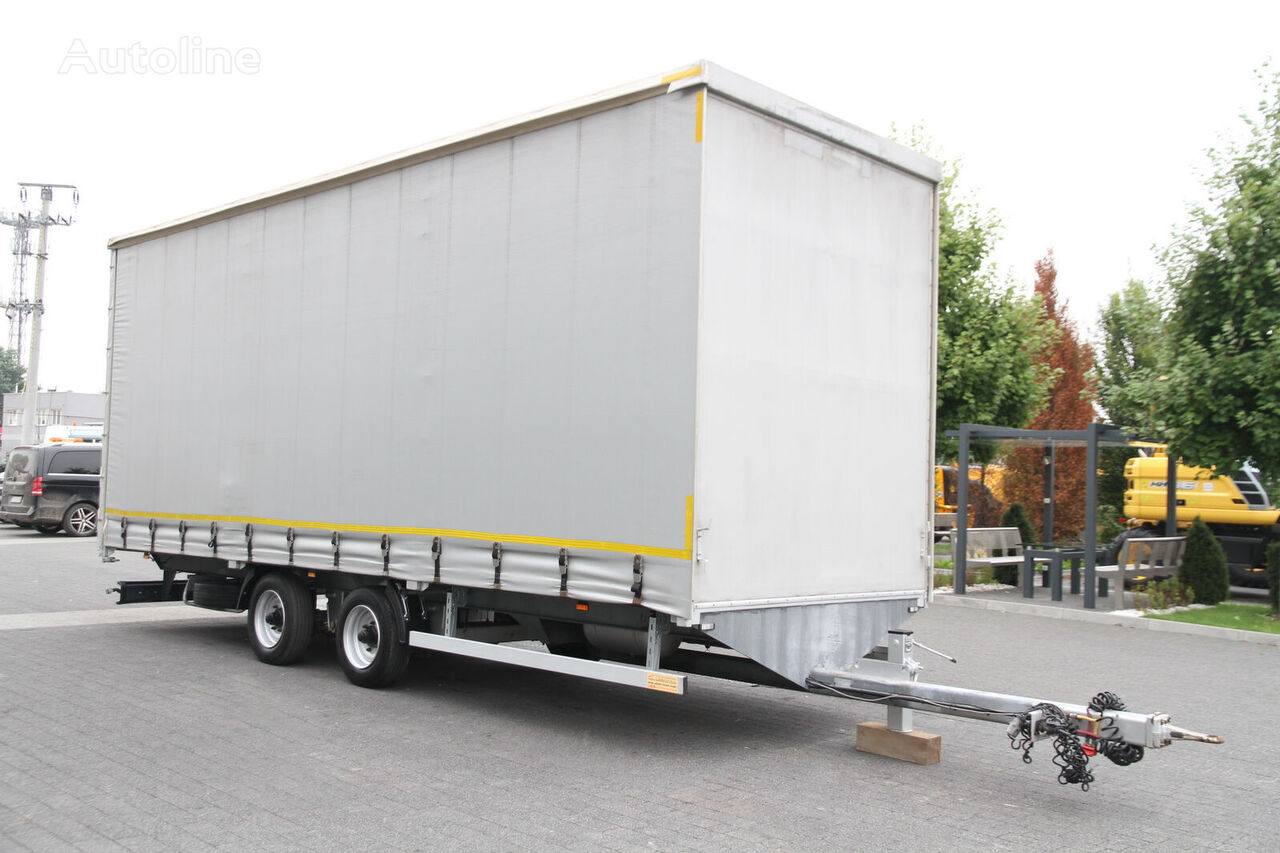 TRAILER ANB BEDNARCZYK PS7/PK1 CURTAINSIDE 6.75 T  7.7 M MEGA curtain side trailer