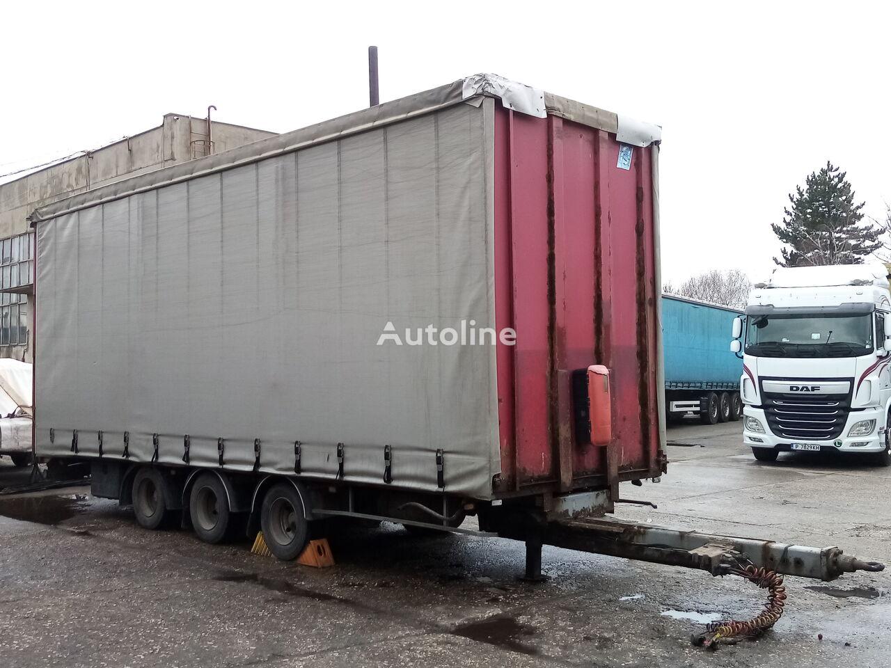 TRAILOR CYY 3SX- 3 Achse, JUMBO curtain side trailer