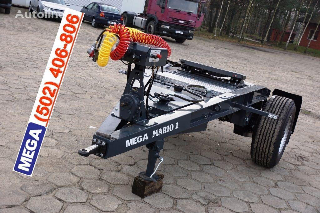 new MEGA 1 Achse Dolly fur Kipper / Hydraulik Pumpe / FERTIG  dolly trailer