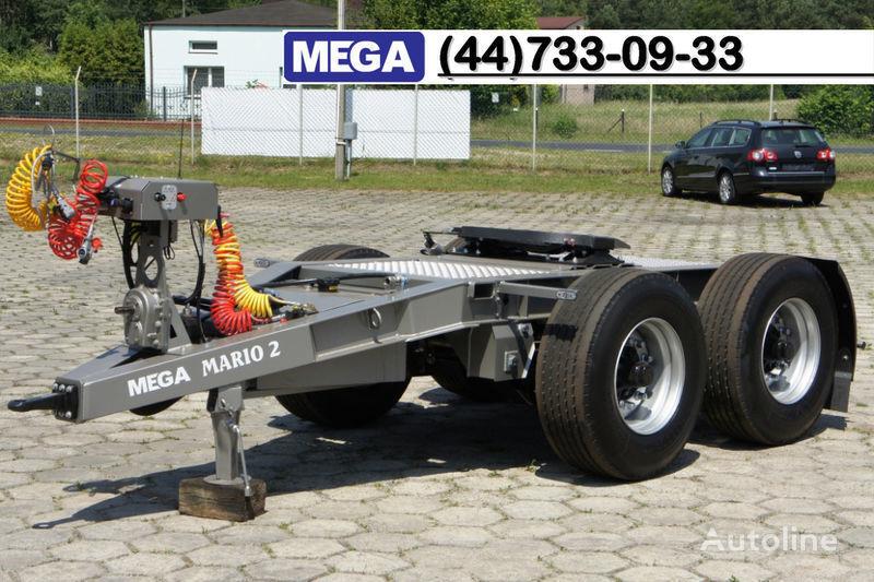 new MEGA 2015 SALE !!! 2 Achsen Dolly fur Kipper mit Hydraulik - BEREIT ! dolly trailer