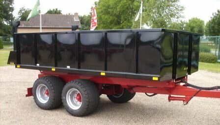 new Hoogkipper dump trailer