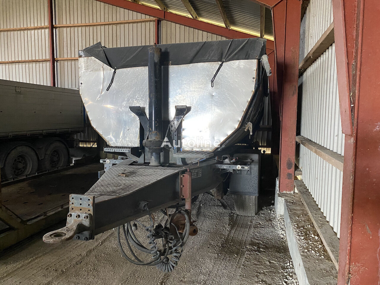 KELBERG dump trailer