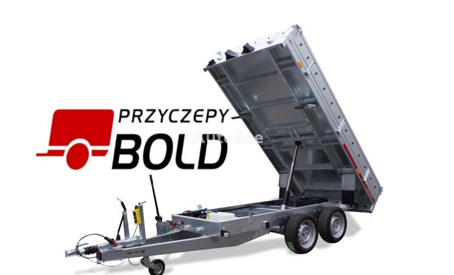 new TEMARED 3015/2C S Manualny dump trailer