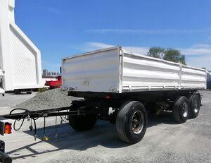 BLUMHARDT LK24/65E-3SM BPW Dreiseitenkippanhänger dump trailer