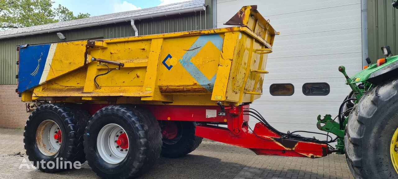 Beco Gigant 160 dump trailer