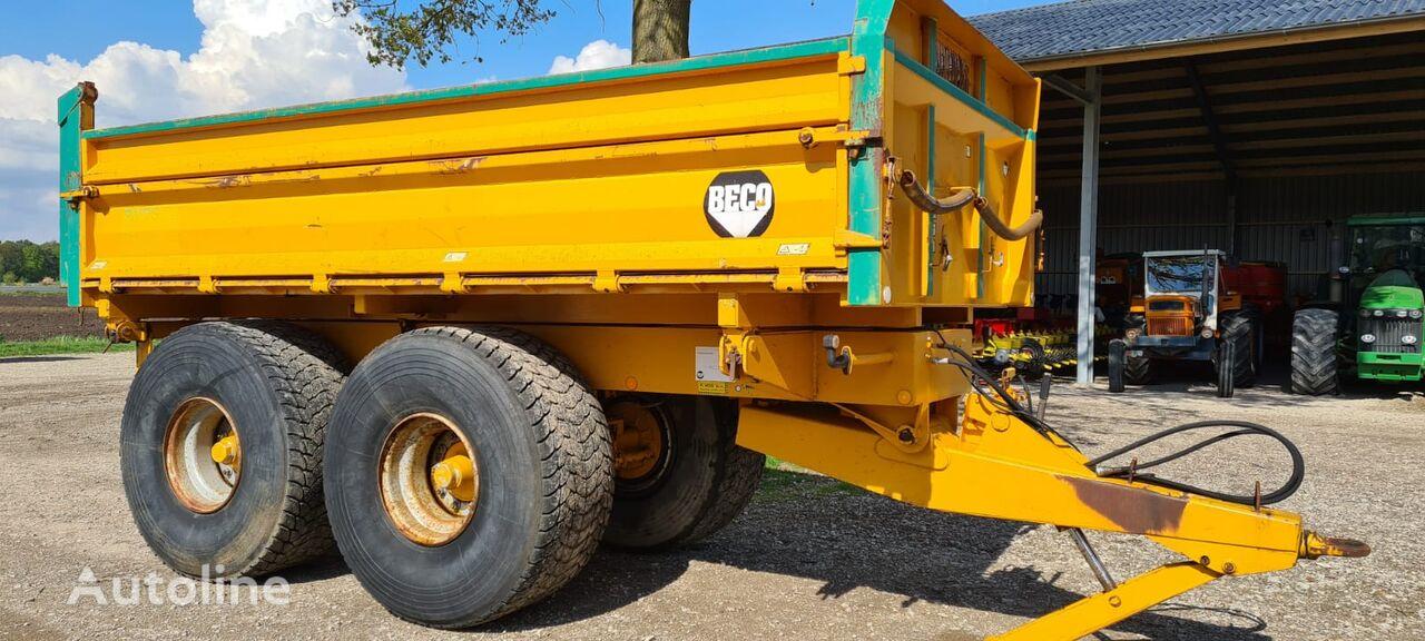 Beco Gigant 160D dump trailer