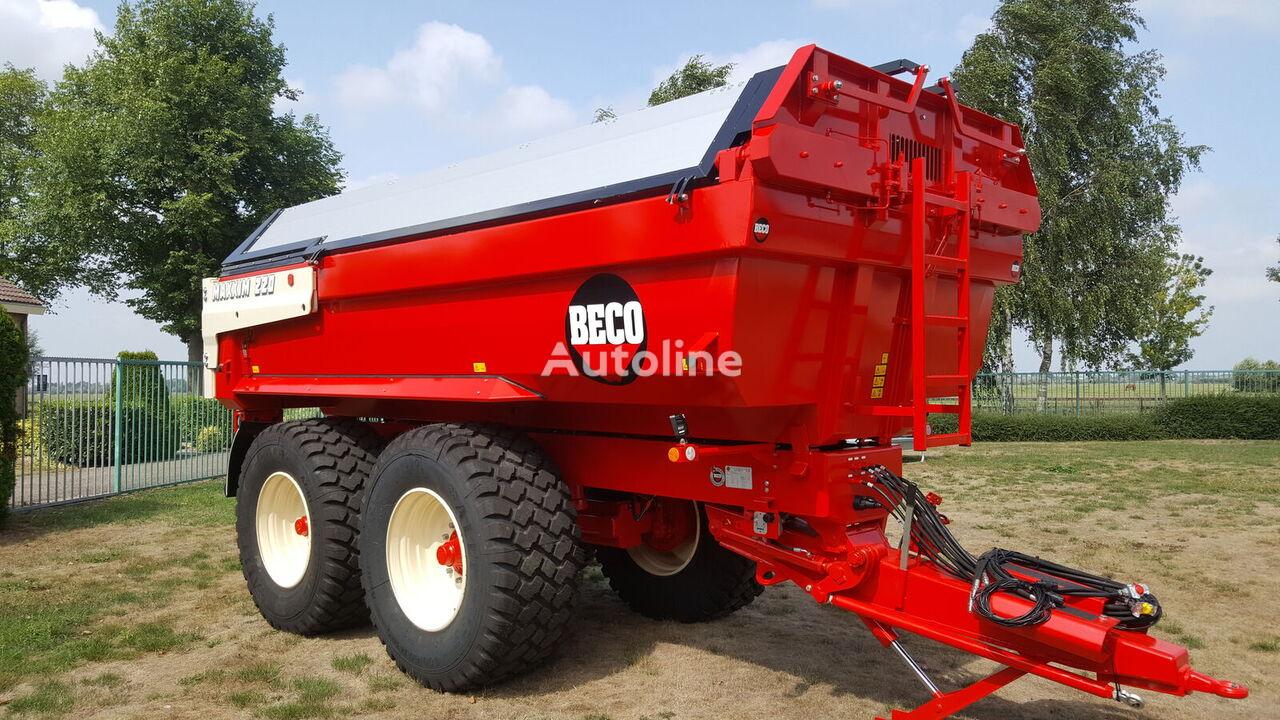 Beco Maxxim 220 dump trailer