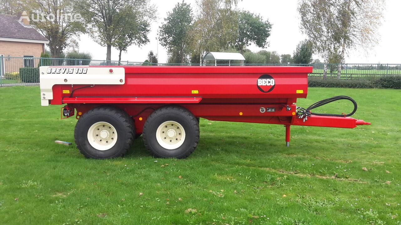 new Beco brevis 100 nu op voorraad! dump trailer