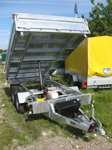 new Brenderup Kiper dump trailer
