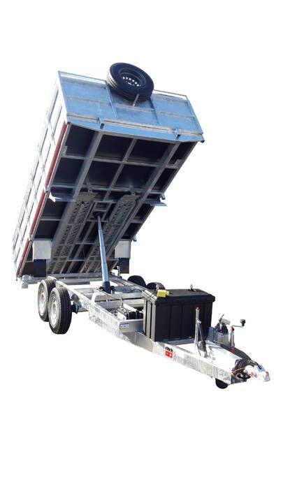 new GEWE P3500 F/1 Kiper budowlany dump trailer