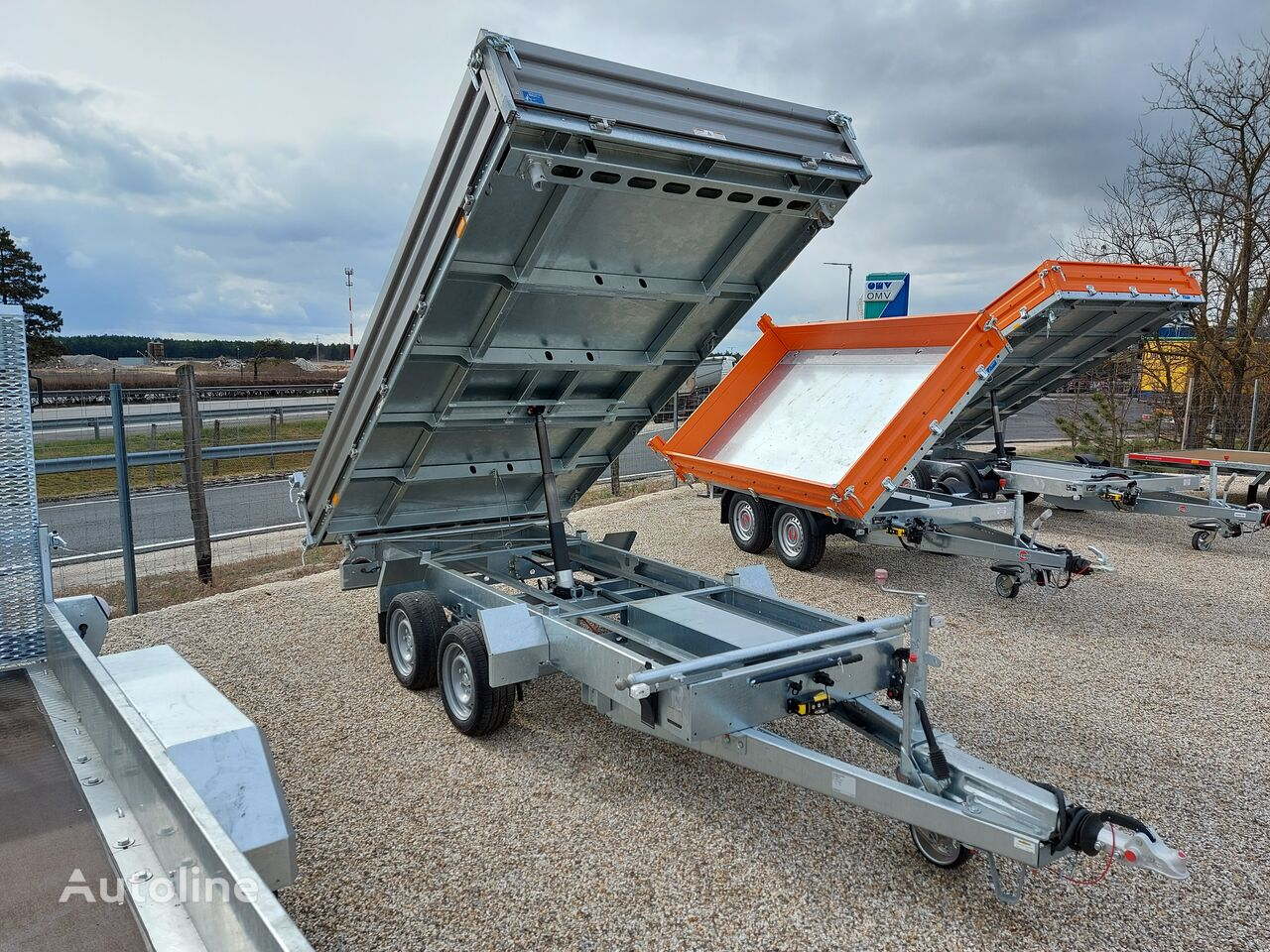 new HUMBAUR HTK 3500.37 dump trailer