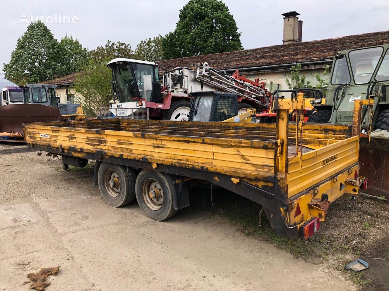 MULLER-MITTELTAL ZV2 dump trailer