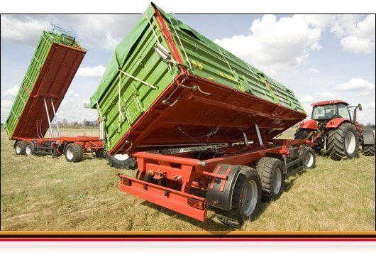new PRONAR ASIA T780 dump trailer