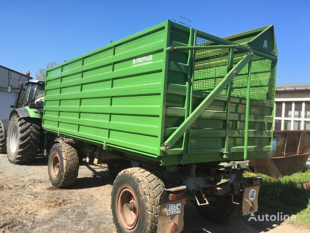 new PRONAR HW 80 Schwerhäckselaufbau dump trailer